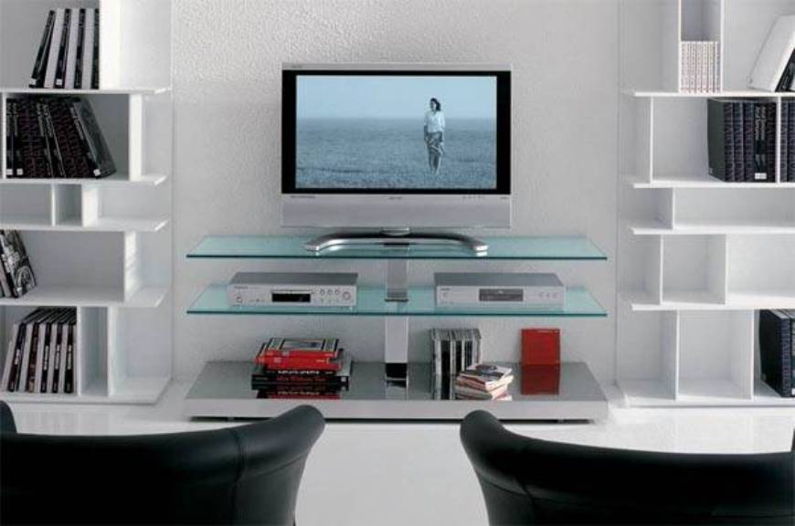 21 Cool Tv Stands You Ll Love, Cool Tv Furniture