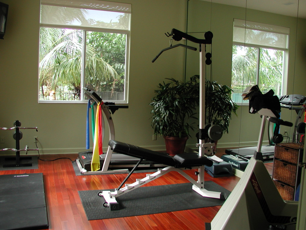 home gym material ideas