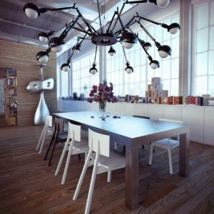 modern steampunk decor ideas