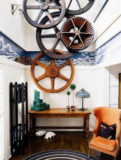 Interior steampunk decor ideas gallery