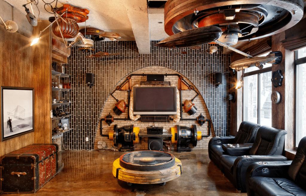 steampunk decor ideas gallery