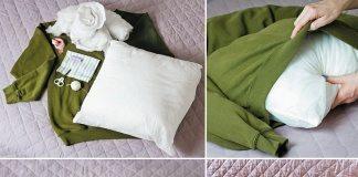 sweatshirt-pet-bed-collage