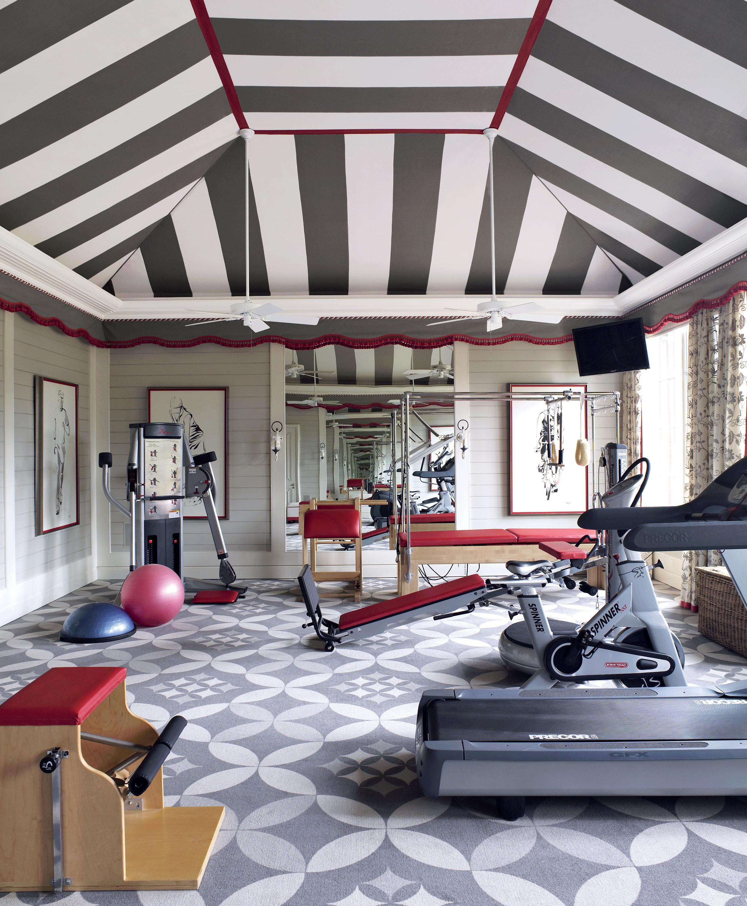 Home Gym Room Design Ideas: Smart Home Gym Ideas & Designs
