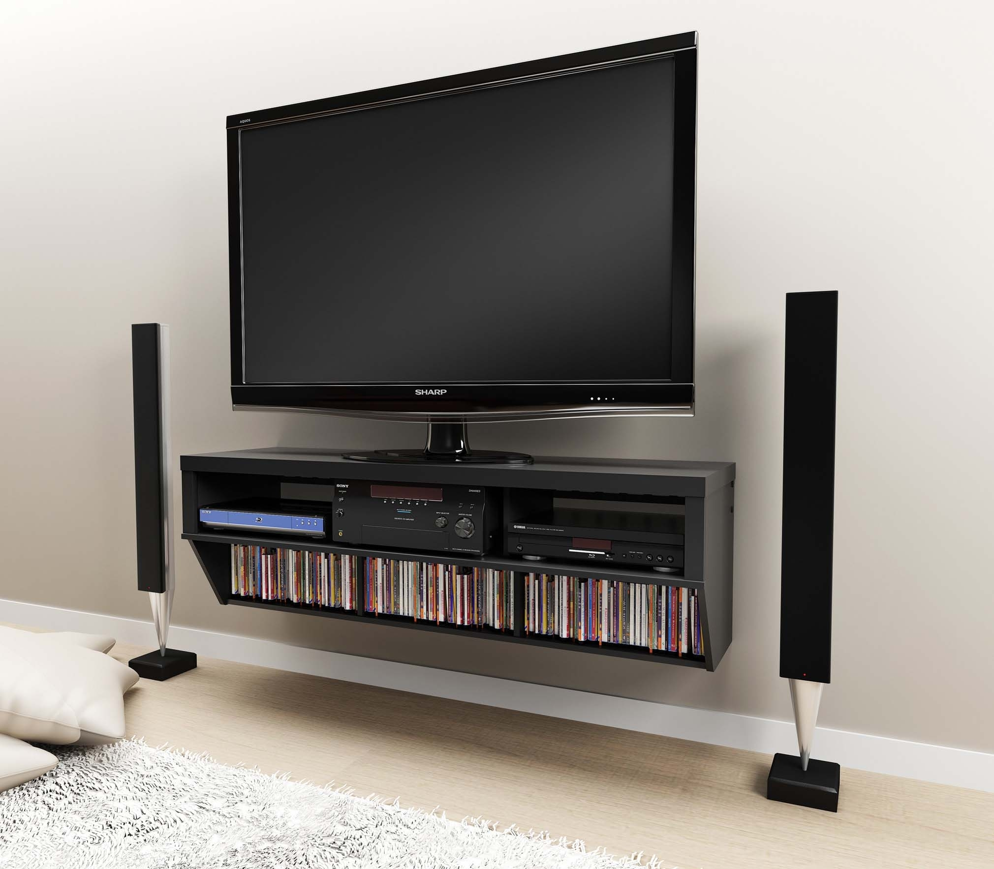 unique cool tv stands