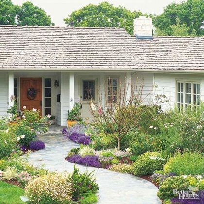 front lawn makeover ideas