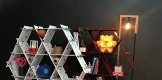 Bookshelves DIY cardboard furniture