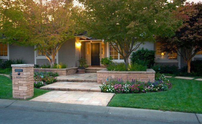 exterior garden landscaping