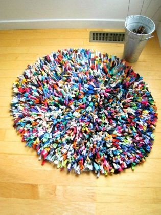 diy round rag rugs