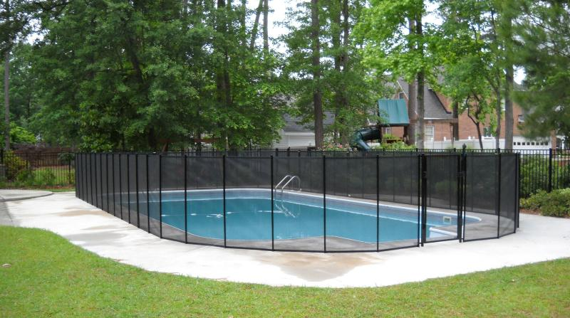 perimeter fence designs for pool