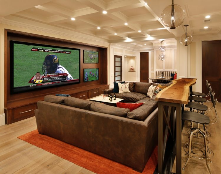 the fancy Man cave ideas
