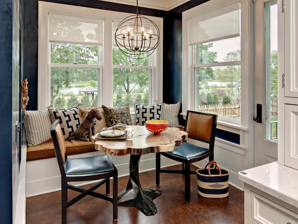 popular breakfast nook ideas