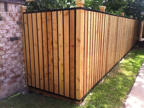 Cool wooden fence designs