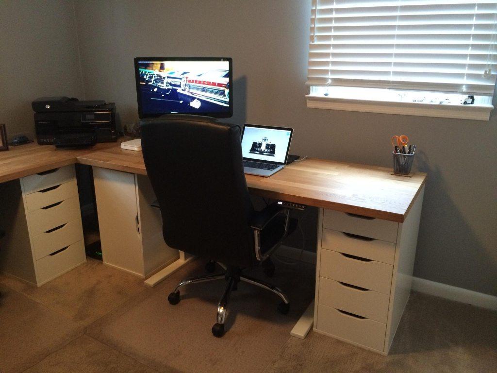 ikea countertop desk