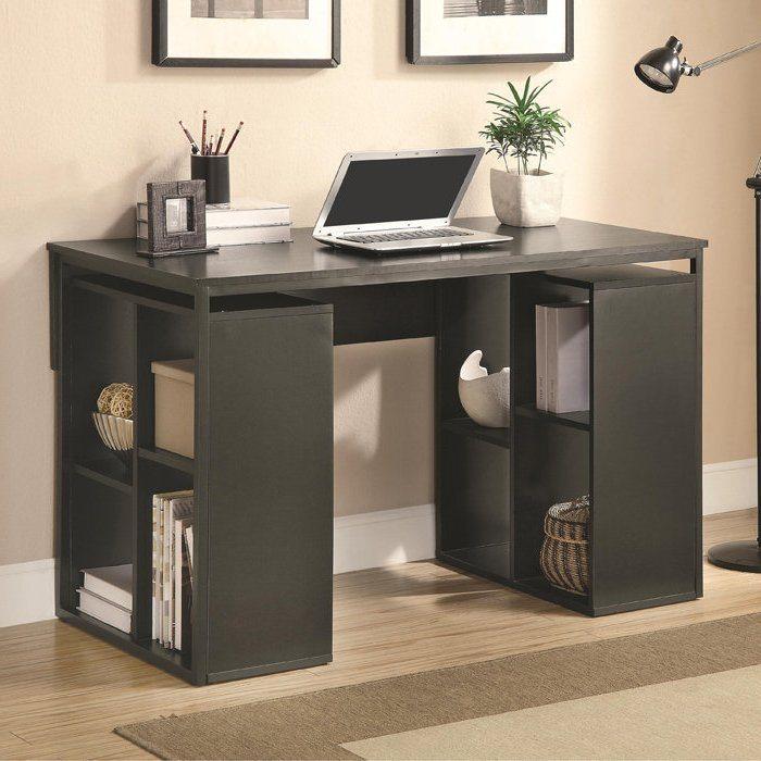 Desk with shelves - 12 best type of desks
