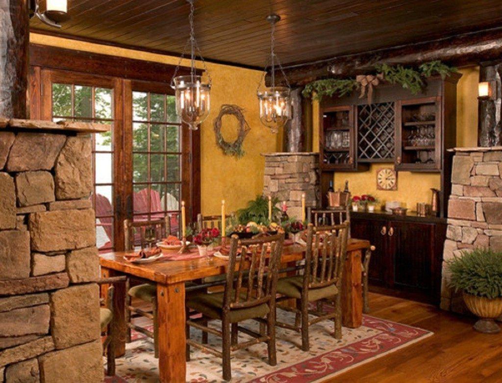 all farmhouse dining room
