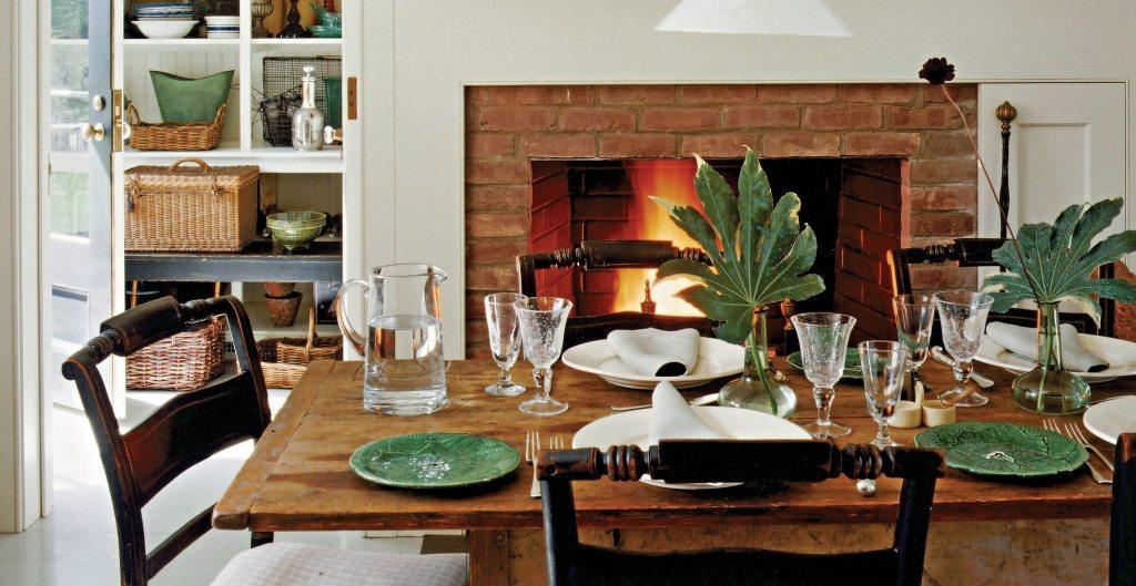 all new farmhouse dining room