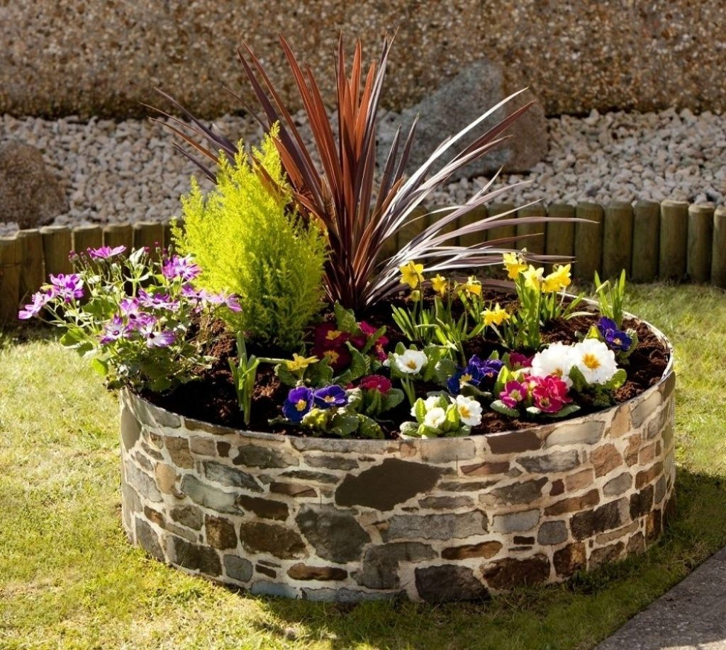 most nice flower bed ideas