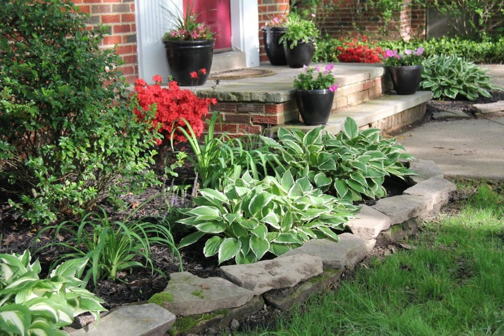 the great flower bed ideas