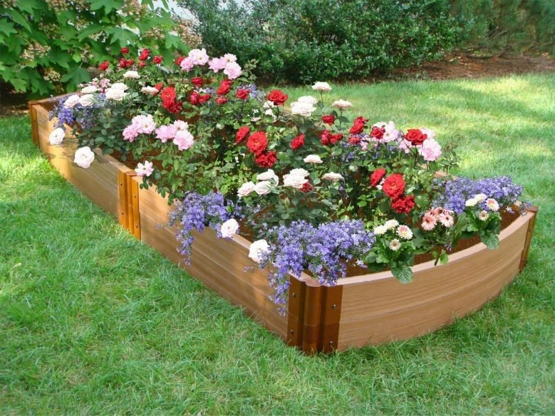 all the good flower bed ideas