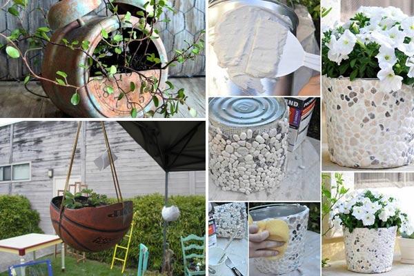 fine flower pot ideas