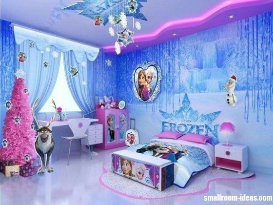 frozen inspired cool bedrooms