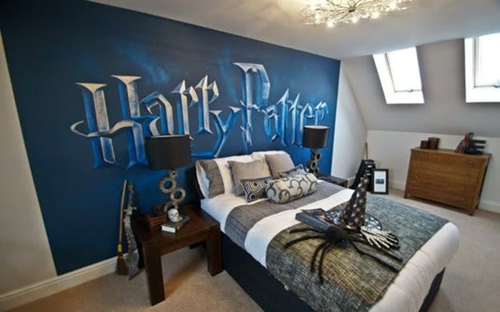 cool bedrooms inspired from harry potter
