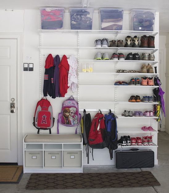 some nice mudroom lockers
