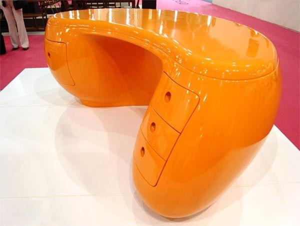 Plastic desks - 12 types of desks