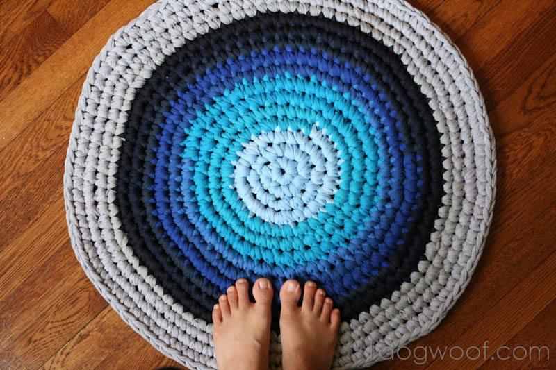 super cool diy rugs