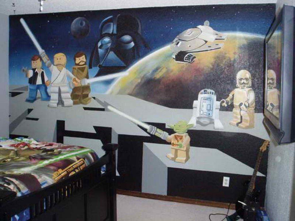 a star wars bedroom