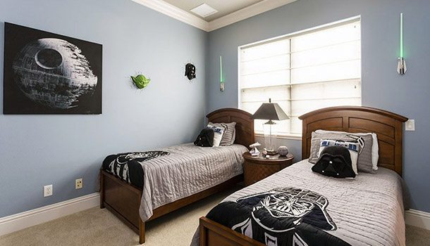 top of star wars bedroom