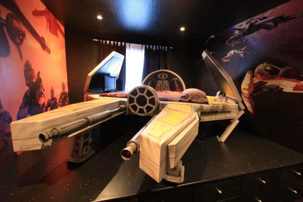 the best star wars bedroom