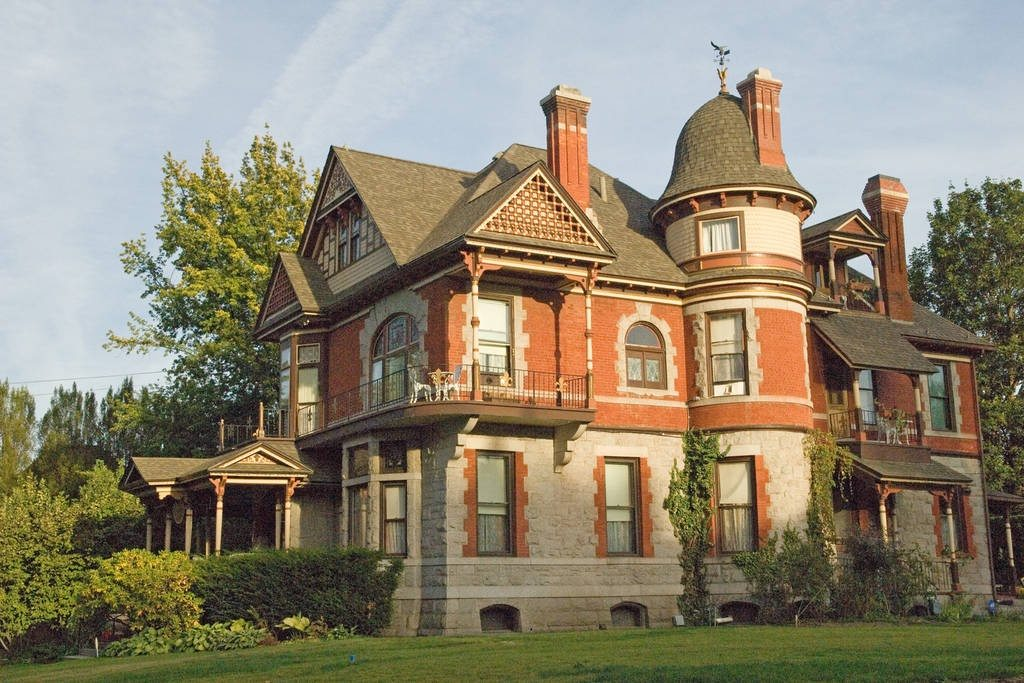 perfect victorian mansion