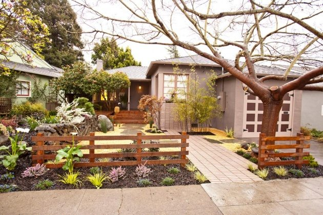 garden rail fence designs