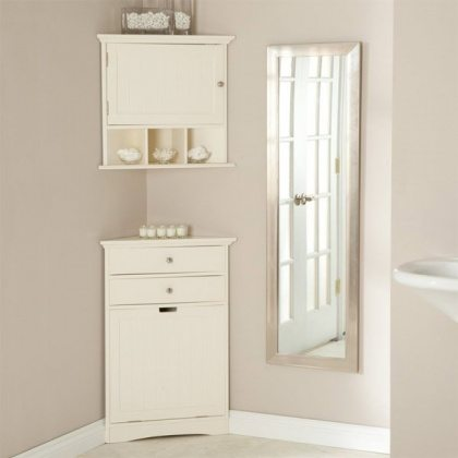 11-wooden-white-corner-bathroom-cabinet
