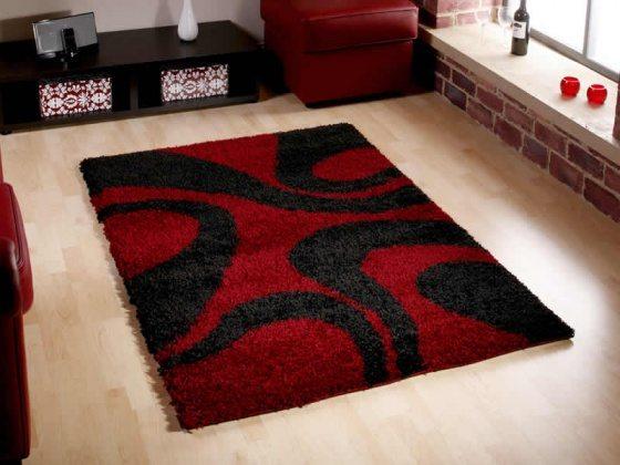 Black-And-Red-Rug-On-Bathroom-Rugs-Fancy-Bedroom-Rugs