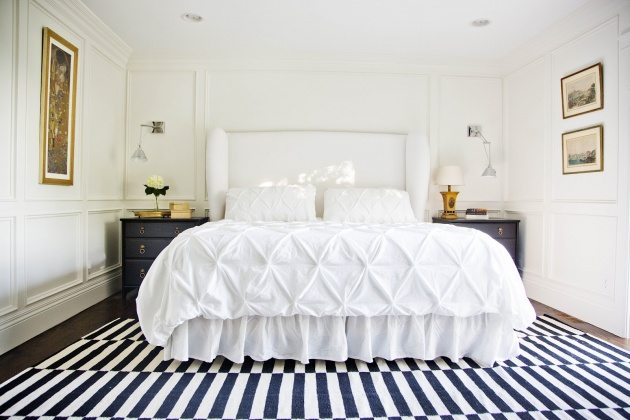 bedroom soft cotton rug