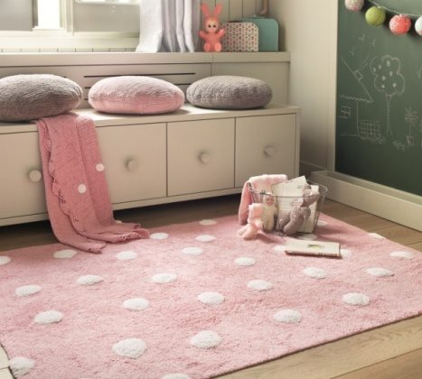 kids perfect cotton bedroom rugs
