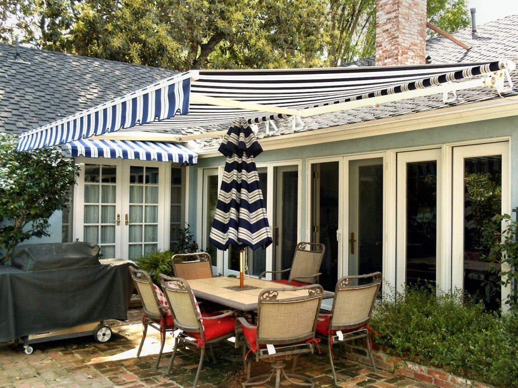 a smart covered patio