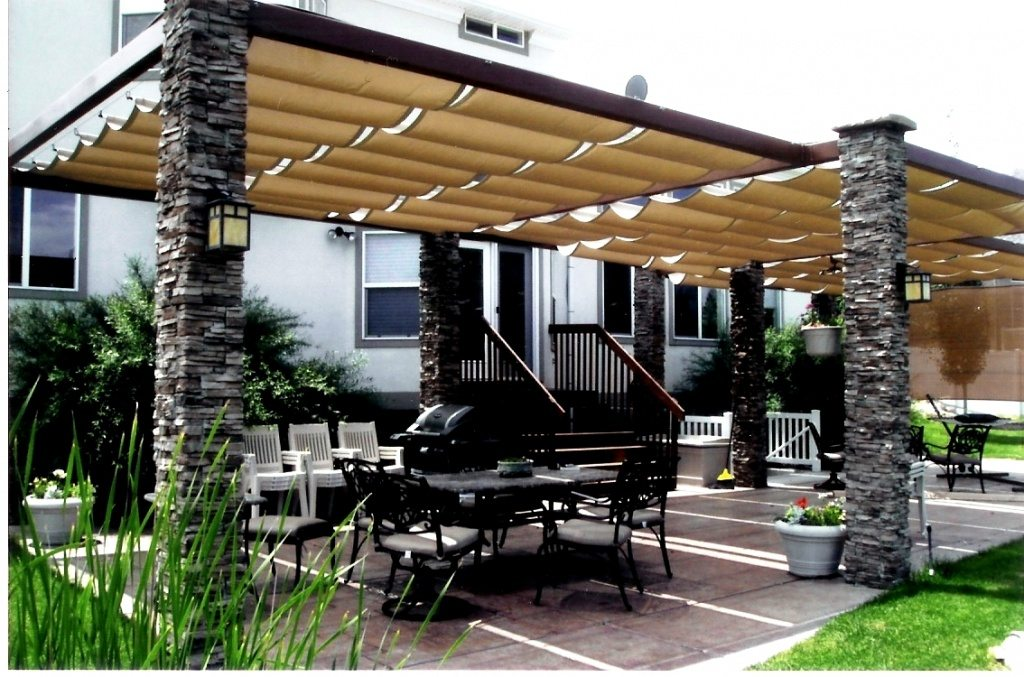 awnings covered patio