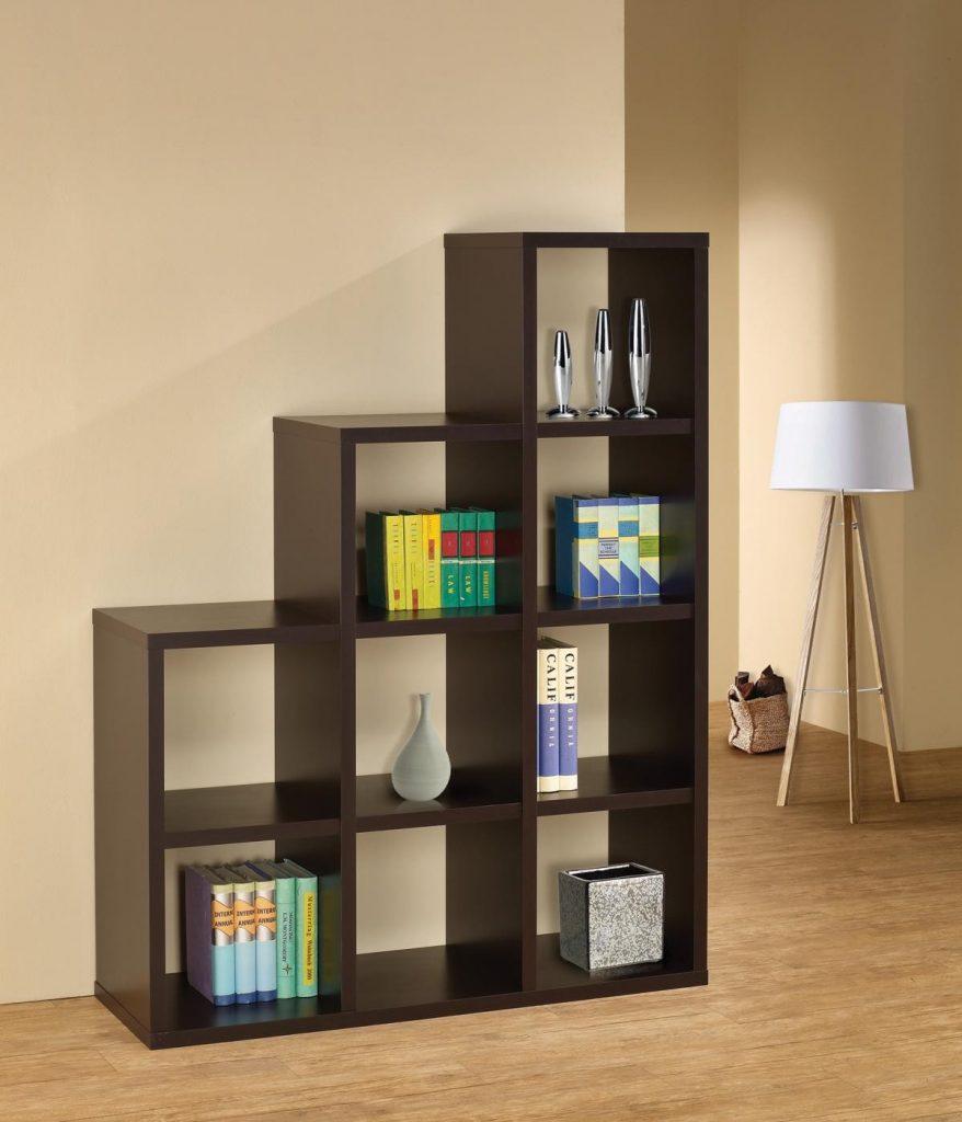 elegant cube bookshelf