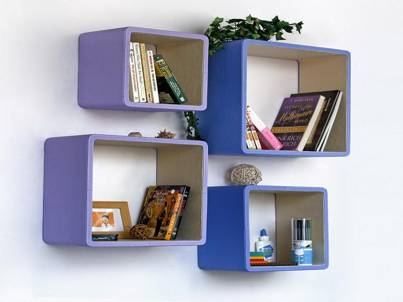 cool cube bookshelf
