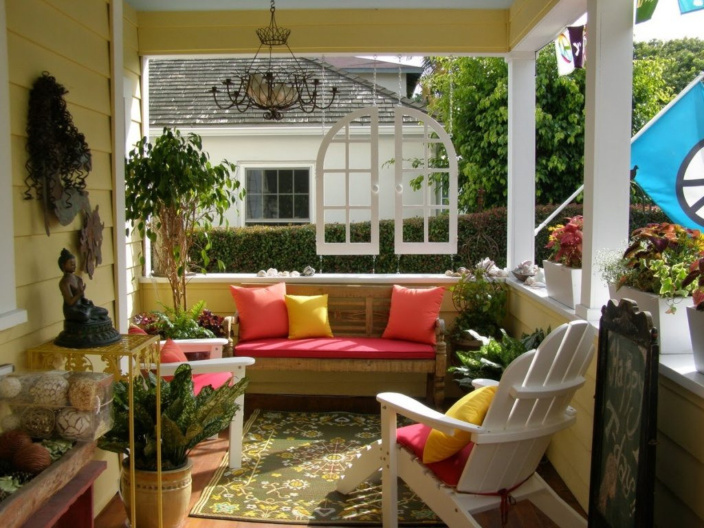 Front Porch Decorating Ideas And Tricks Outdoor