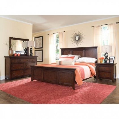 furnitures-bedroom-fancy-design-of-bedroom-with-wooden-platform-with-red-area-rug-with-modular-pattern-method-plus-dresser-table-with-cosmetic-drawers-and-square-mirror-bedroom-rugs