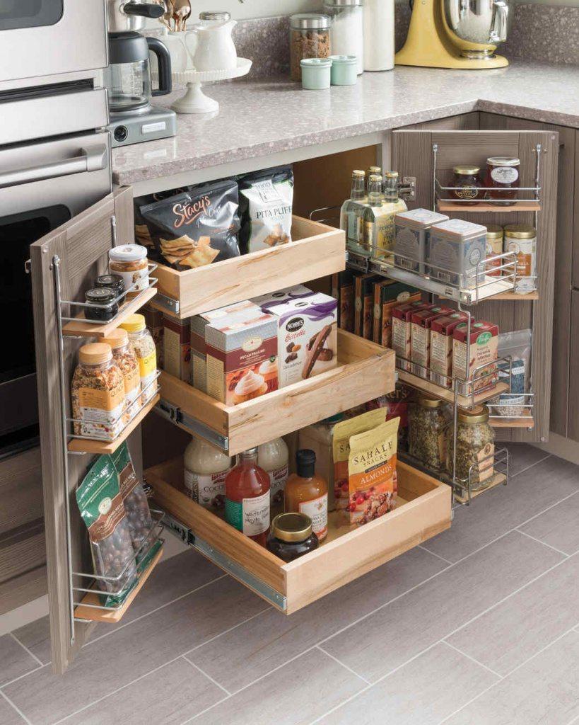 fine small kitchen storage ideas