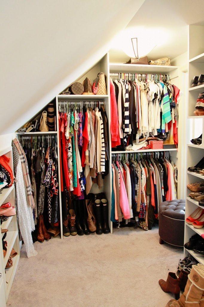 best small walk in closet ideas