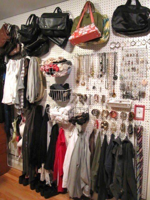 amazing small walk in closet ideas