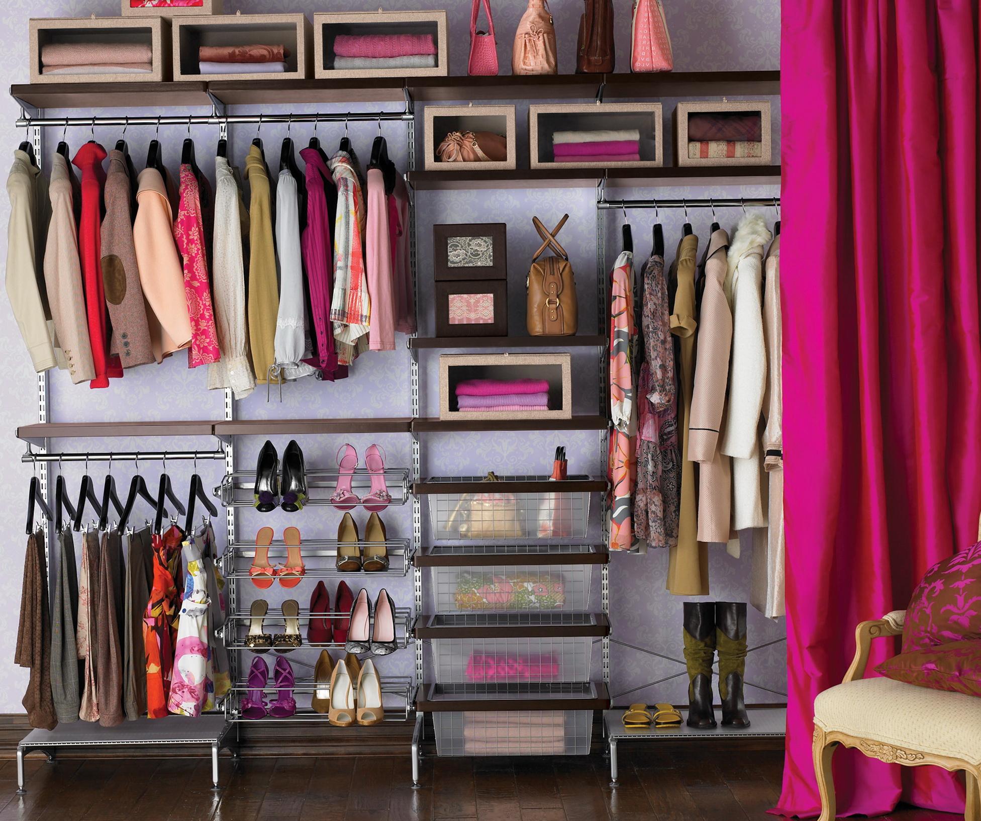 Closet Ideas Small Decorating: Super Small Walk-in Closet Ideas & Tips