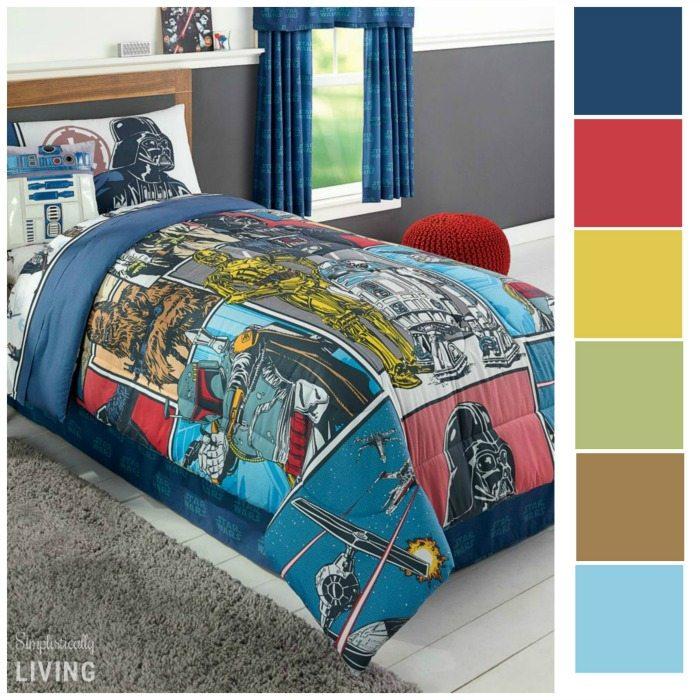 Star wars decoration color scheme ideas