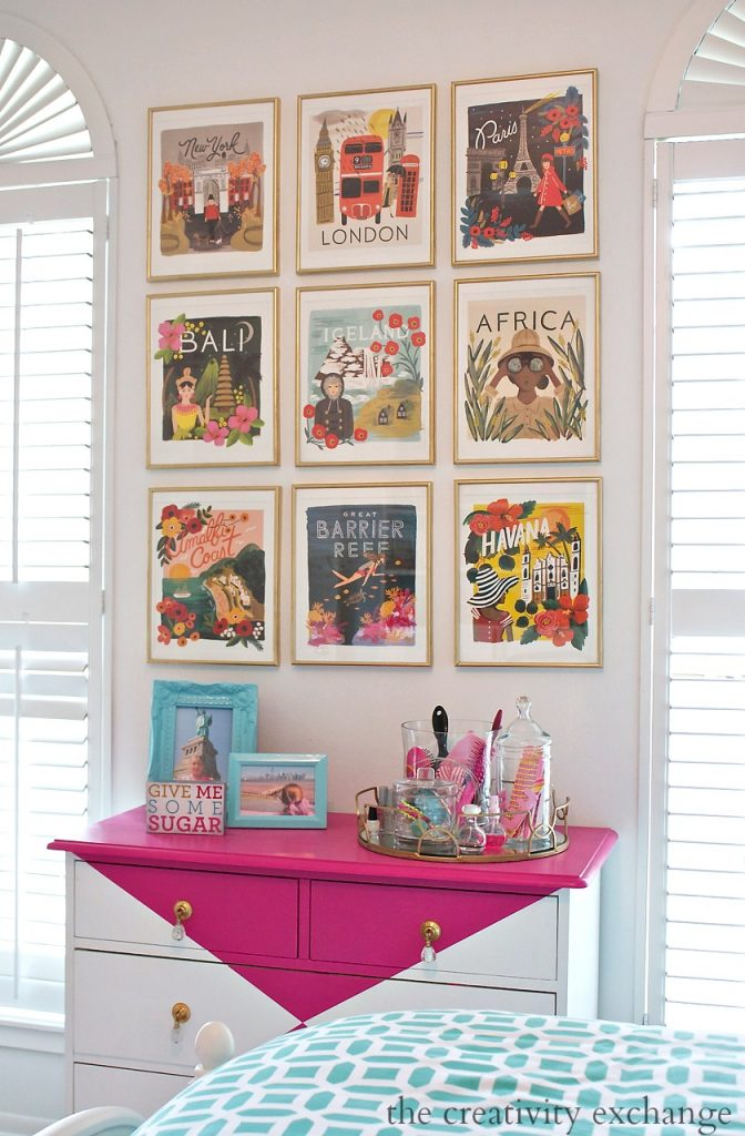 calendar gallery wall ideas
